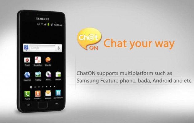 Ch@t ON, el Whatsapp global de Samsung