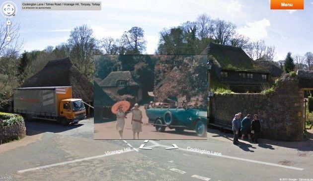 Vídeos de época/históricos en Google Maps y Street View