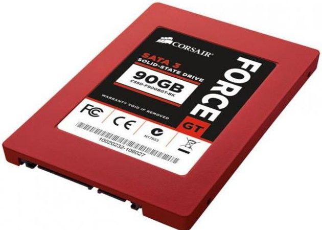 A la venta las SSD Corsair Force 3 de 90 GB