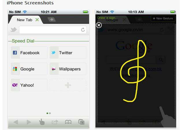 Dolphin, el mejor navegador web de Android llega a iOS 30
