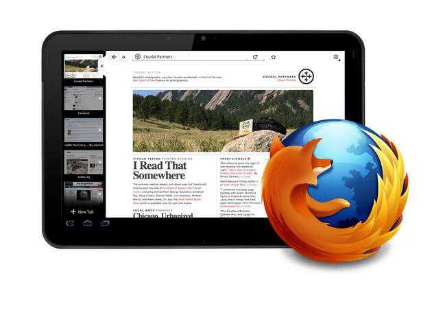 Firefox para tablets 29