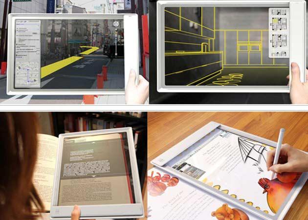 Fujitsu Iris, imaginando el tablet del futuro