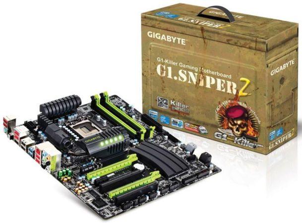 GIGABYTE G1 Sniper 2, placa base Z68 especial para jugones