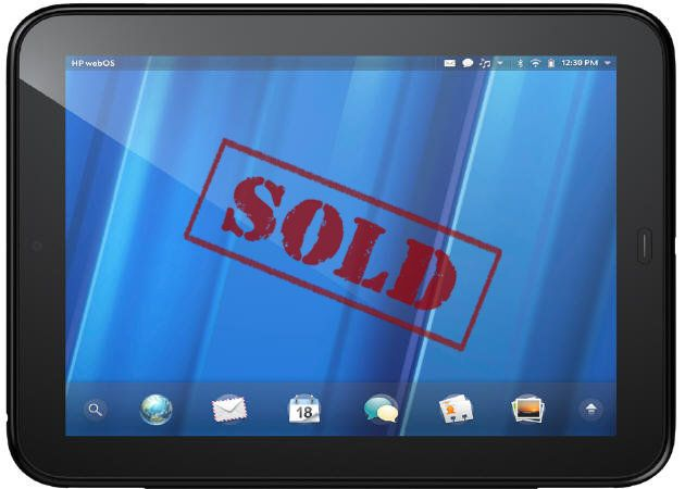 HP Touchpad, desde 100 dólares en BestBuy (agotados)