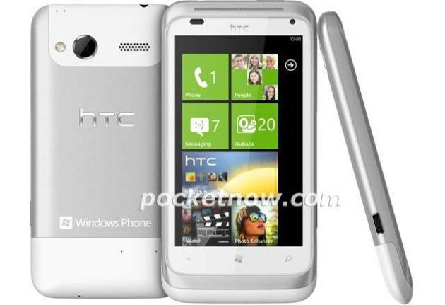 HTC Omega con Windows Phone 7.5 Mango, filtrado