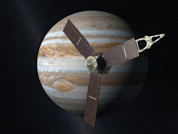 Juno ya está camino de Júpiter