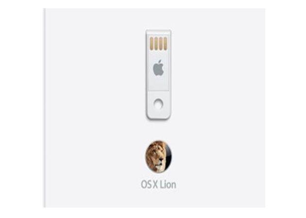 Mac OS X Lion en USB disponible