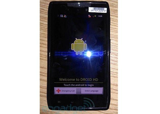 Motorola Droid HD avistado