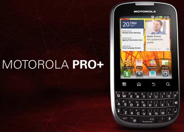Motorola presenta el Pro+, competencia a las BlackBerry