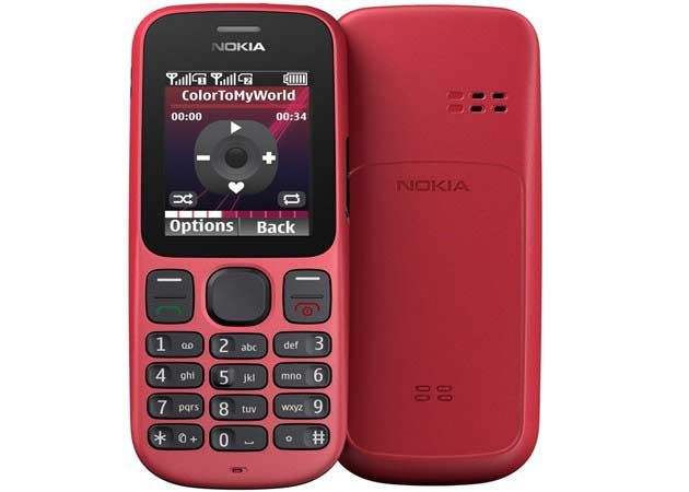 Nokia 100-101, los móviles más baratos del mercado