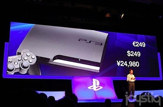Sony baja el precio de PS3 un 20%