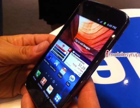 Especial con todos los smartphones Samsung para el IFA 2011 35