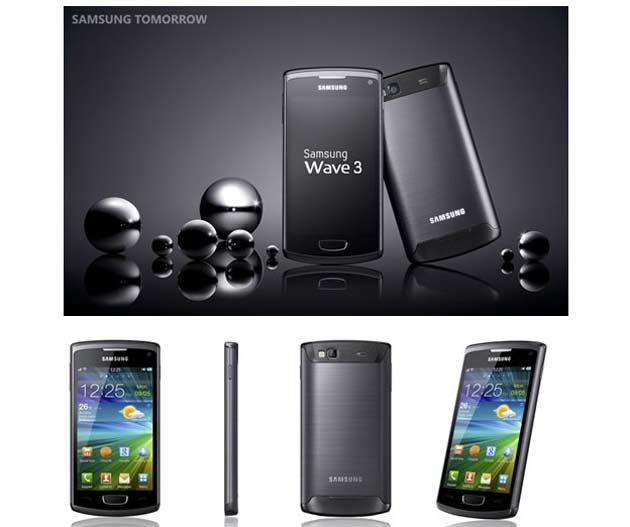 Samsung Wave 3, M e Y con Bada 2.0