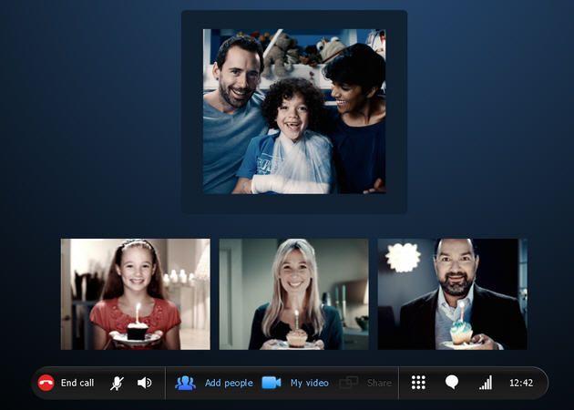 Skype utiliza por defecto el códec de vídeo Open Source VP8