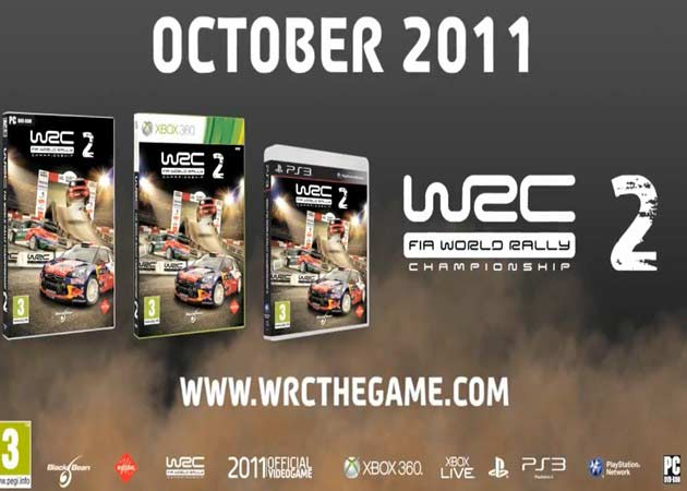 WRC 2: FIA World Rally Championship, nuevo tráiler