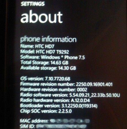 Windows Phone Mango, RTM filtrada 32