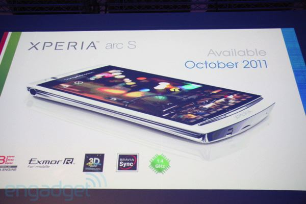 [IFA 2011] Sony Ericsson Xperia Arc S, smartphone de última generación