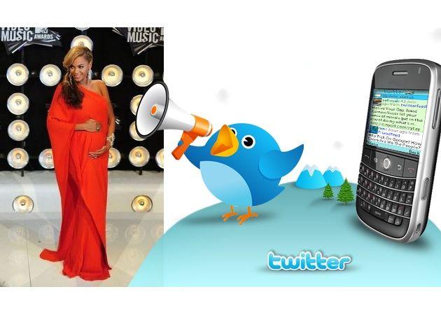 El bebé de Beyoncé bate el récord de Tweets por segundo antes de nacer