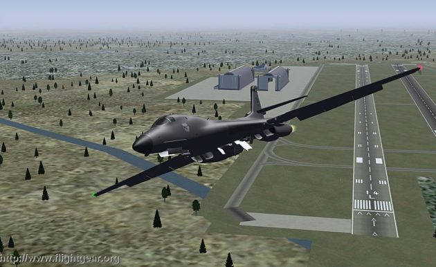 FlightGear, el simulador de vuelo opensource, alcanza la versión 2.4