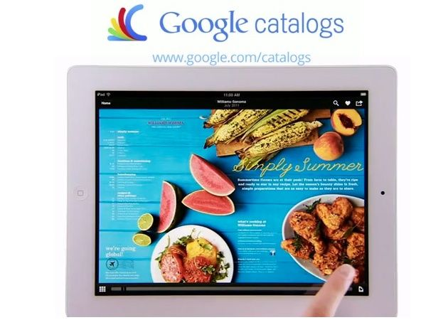 Google Catalogs, nueva forma de comprar llega a iPad