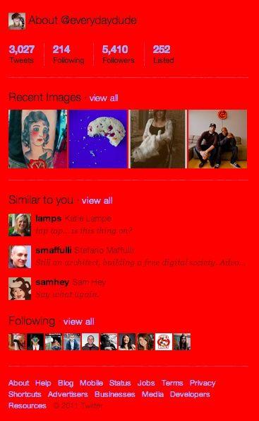 Twitter ya integra galería de imágenes para cada usuario 31
