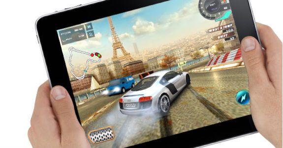 iPad 2 es la mitad de potente que una consola de última generación