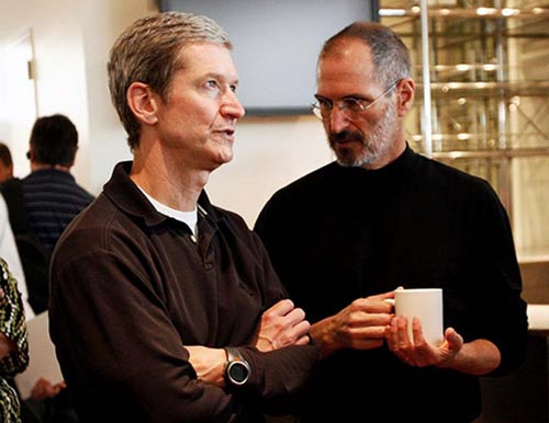 400 millones de dólares en acciones para el CEO de Apple, Tim Cook