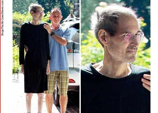 Steve Jobs después de dejar su puesto como CEO de Apple -agosto 2011-