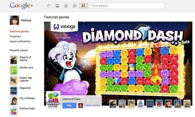 Llegan los juegos a Google+