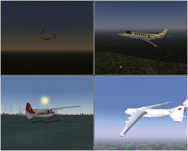 FlightGear, el simulador de vuelo opensource, alcanza la versión 2.4 33
