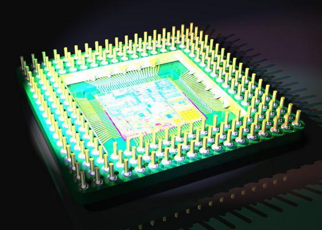 Bajan las ventas de microprocesadores, AMD gana enteros