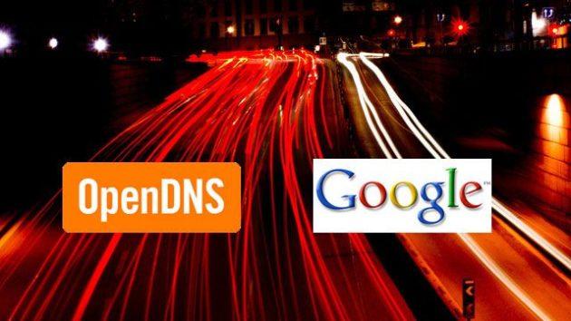 opendns-google-speed