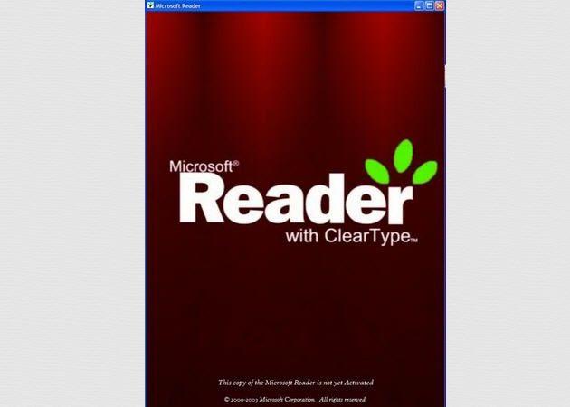 Adiós a Microsoft Reader y los libros en formato .LIT