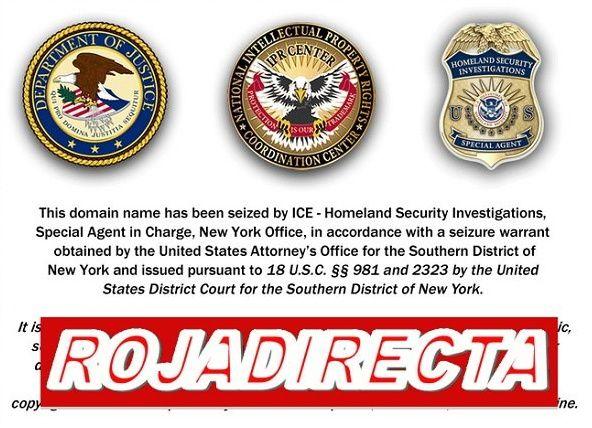 RojaDirecta seguirá censurado por Estados Unidos