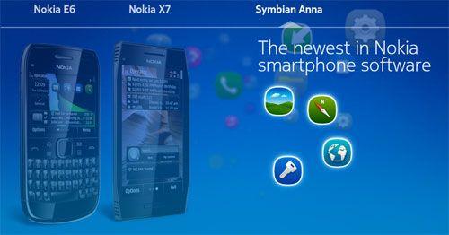 Symbian Anna llega a los terminales Nokia C6-01, C7, E7 y N8