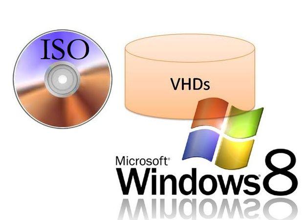 Windows 8 tendrá soporte nativo de archivos ISO y VHD