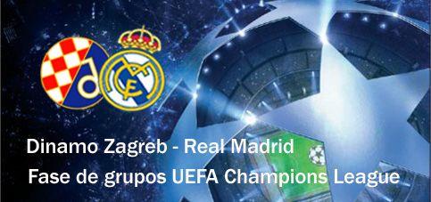 Sigue en directo el partido de UEFA Real Madrid - NK Dinamo de Zagreb 29