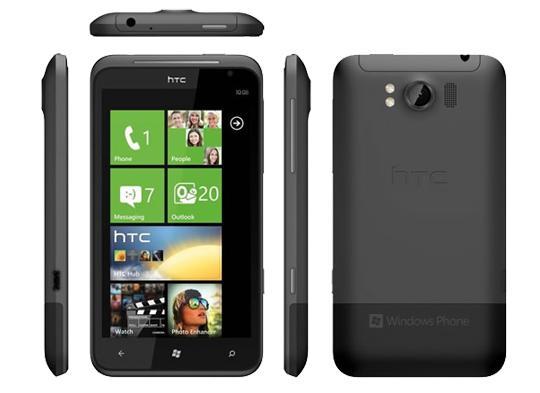HTC TITAN, smartphone gama alta Windows Phone 7