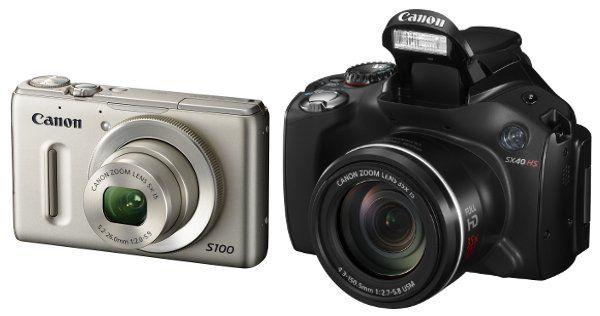 Canon anuncia las nuevas PowerShot S100 y SX40 HS