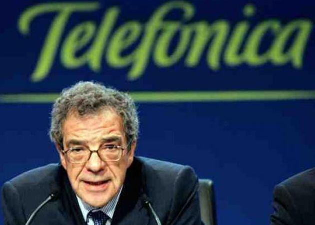 """""""Sin Telefónica no existiría Internet en España"""": Alierta 28"""