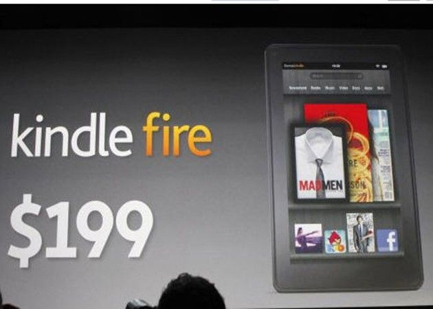 Amazon 'perderá' 50 dólares por Kindle Fire vendido