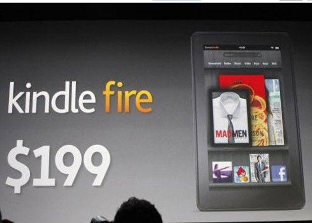 Amazon 'perderá' 50 dólares por Kindle Fire vendido 30