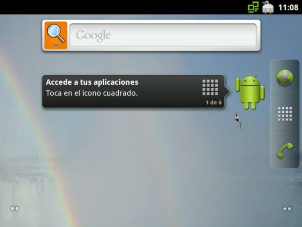 Prueba Android 2.3 Gingerbread… en tu PC