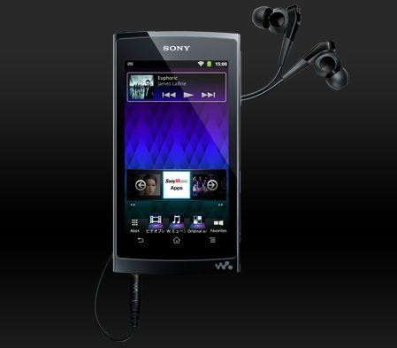 """Sony presenta su """"iPod touch killer"""": Walkman Z"""