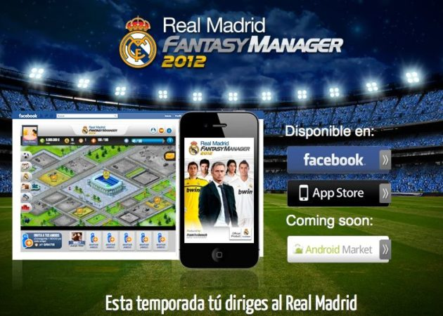 Descarga gratis Real Madrid Fantasy Manager 2012: Facebook, iOS y Android