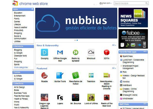 La Chrome Web store llega a España (y otros 23 países)