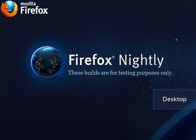 Firefox 9, primer vistazo