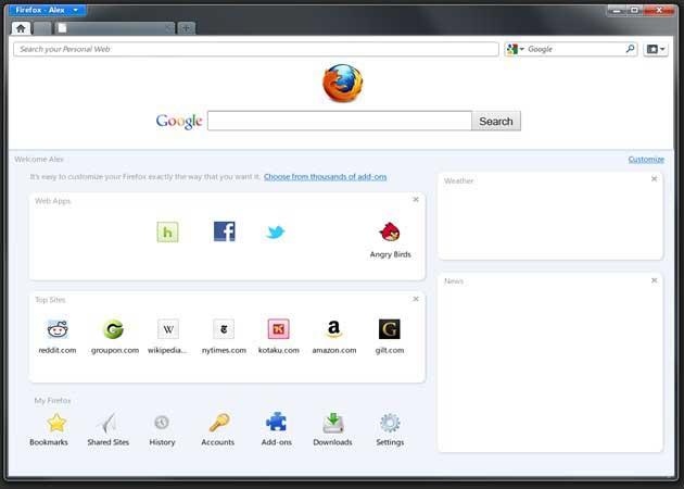 Firefox 9, primer vistazo 31