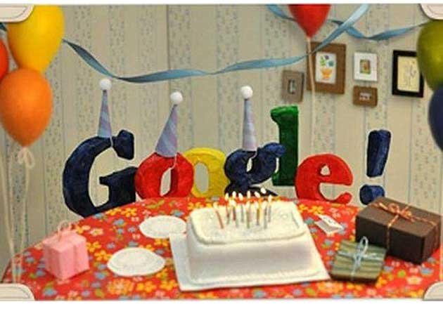 Google cumple 13 años y lo celebra con nuevo doodle