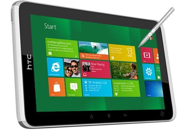 HTC prepara tablet con ARM y Windows 8